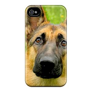 Fashionable EaKfHHG7686ecGfQ Iphone 4/4s Case Cover For German Shepherd Dog Protective Case