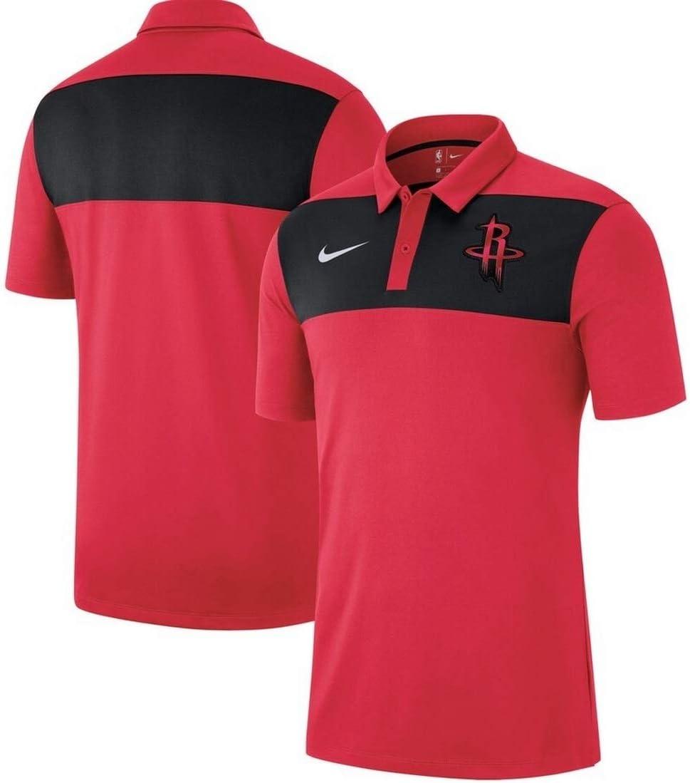 Nike Houston Rockets - Polo para Hombre (Talla XXXL), Color Rojo ...