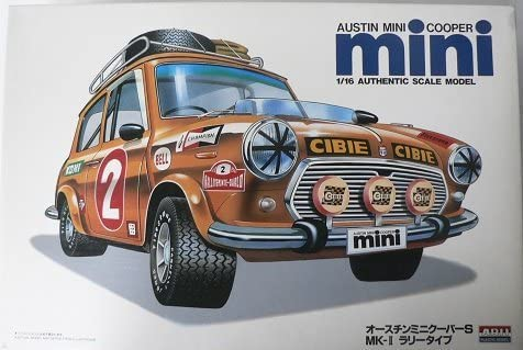 Amazoncom Arii Works 116 No4 Austin Mini Cooper S Mk ⅱ Rally