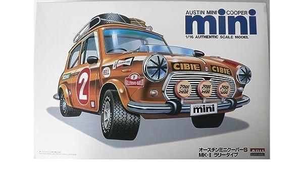 Amazoncom 116 No4 Austin Mini Cooper S Mk U Rally Type Toys Games