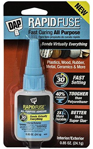 Dap 00155 0.85 Oz RapidFuse Fast Curing All Purpose Adhesive