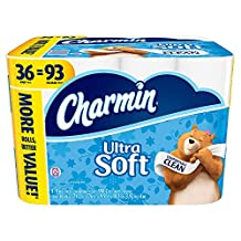 Charmin Ultra Soft Toilet Paper (198 Sheets, 36 ct.)