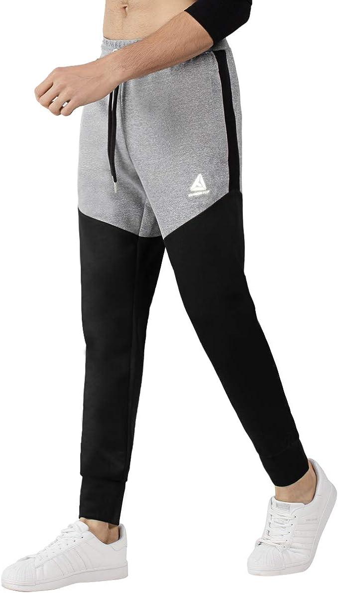 UK Men Star Print Sportswear Fitness Joggers Trousers Drawstring Track Pants 520
