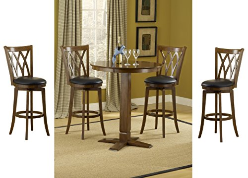 Hillsdale Dynamic Designs 5 Piece Pub Table Set with Mansfield -