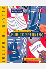 The Elements of Public Speaking (7th Edition) Paperback