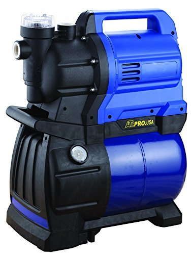 ATE Pro. USA 86195 1-3/4 hp Hd Garden Pump with Tank, 20.47'' Height, 22.83'' Width, 11.02'' Length by ATE Pro. USA