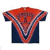 Los Angeles Angels V Tie Dye T-shirt
