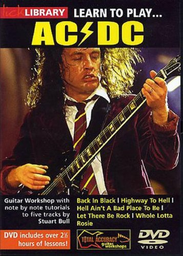 Lick Library: Learn To Play AC/DC [Reino Unido]