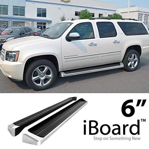 Chevy Suburban Nerf Bar Step - Off Roader eBoard Running Boards Silver 6