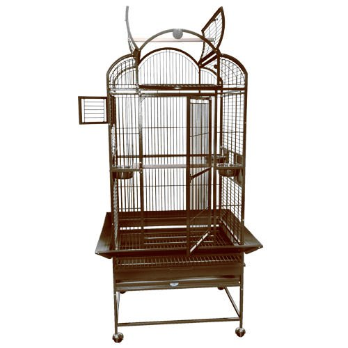 Kings Cages SLT 2724 Parrot Bird toy toys cage cages conure amazon african grey (Coppertone) by King's Cages