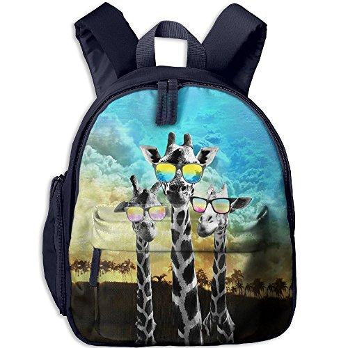 Dope Giraffe Students Book Bag Children Schoolbags Backpacks For Teens Boys Girls