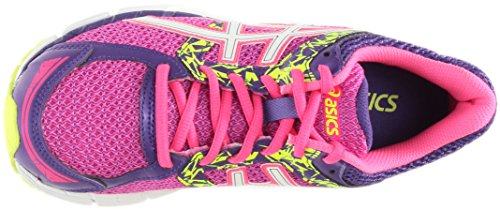 Asics Womens Gel-excite 3 Scarpa Da Corsa Hot Pink / White / Flash Giallo