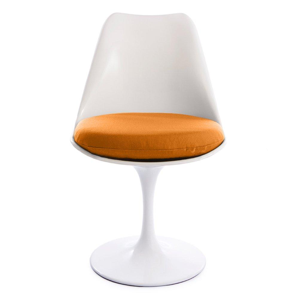 White Tulip cojín de silla de oficina giratoria con 6 opciones de color