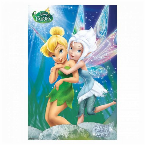 Trends International Disney Fairies Secret of The Wings Tinker Bell Periwinkle Animated Fantasy Movie Poster 22x34 Inch ()