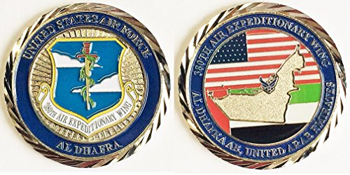 Al Dhafra Air Force Base 380th Expedtionary Wing Challenge Coin (Wing Challenge Coin)
