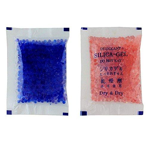 Dry & Dry [50 Packs 5 Gram Blue Premium Indicating