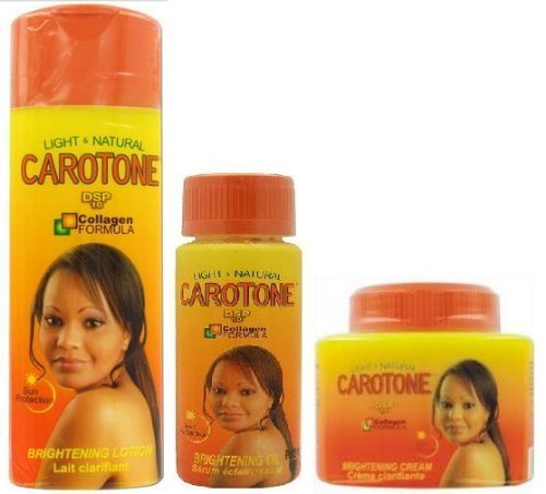 Carotone DSP10 COMBO SETINCLUDES LOTION, CREAM, AND BODY OIL