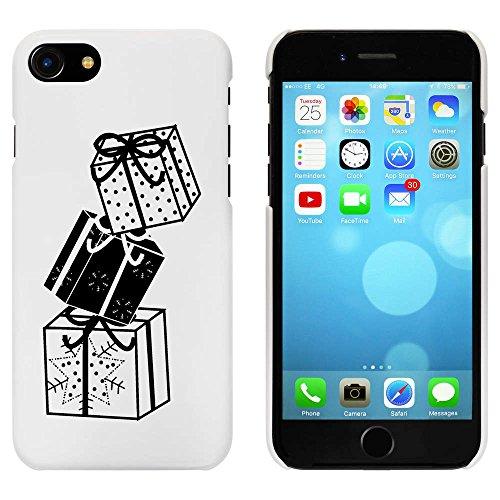 Blanc 'Pile de Cadeaux' étui / housse pour iPhone 7 (MC00058930)