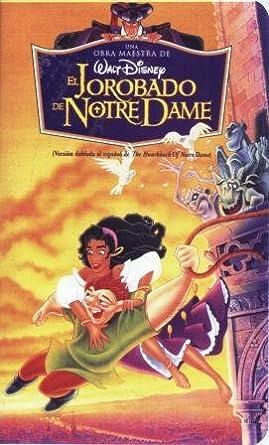 bd534575f Amazon.com: El Jorobado De Notre Dame (Una obra maestra de Walt ...