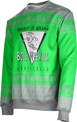 Adult University of Arkansas at Monticello Ugly Holiday Snowflake Sweater