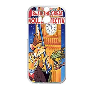Happy Basil the great mouse detective Case Cover For HTC M8 Case