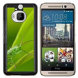 "HTC One M9+ / M9 Plus (Not M9) , JackGot - Impreso colorido protector duro espalda Funda piel de Shell (Planta Naturaleza Forrest Flor 89"")"