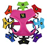 NEW! 1st Nature Friendly Mesh Harness on the Market! Small No Pull &...
