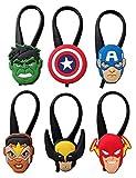 Avengers Silicone Snap Lock Zipper Pulls 6 Pcs Set #3