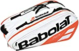 Babolat - Pure 12 Pack Tennis Bag White and Red - (B751170-149)
