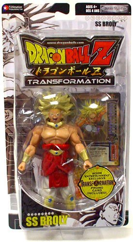 Dragonball Z Transformation Exclusive Action Figure SS Broly (Best Dragon Ball Z Transformations)