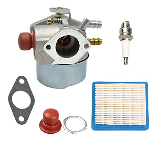 ANTO 640025 Carburetor for Tecumseh 640025C 640004 640014 640025 640017  64011 OHH55 OHH60 OHH65 Engine with Filter Primer Bulb Spark Plug