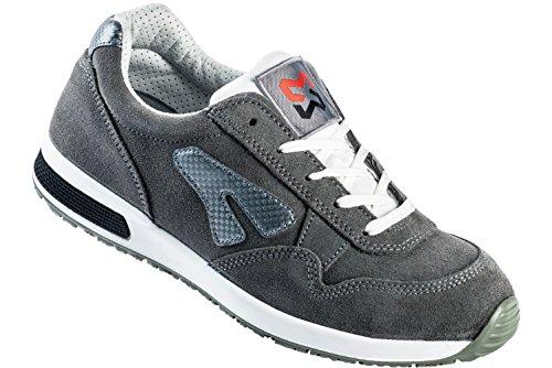Modyf Sicherheitsschuhe S1P SRC Jogger Grau - - Schuhe En ISO 20345 S1P für Innenbereiche Geeignet - Arbeitsschuhe mit Durchtrittschutz - Gr. 46