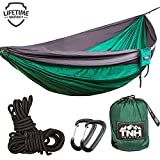 IS THERE ANYTHING WORSE.....Than your gear breaking or the realization that it isn't functional when you head out camping, hiking or just relaxing at the beach? When it comes to hammocks, you get what you pay for. For the SUPERIOR hammock with a FULL...