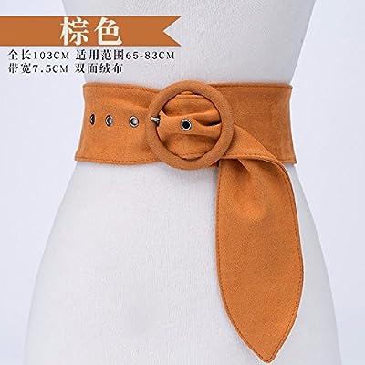 9777f7ed057a 2018 nouvelle ceinture de mode femme large robe robe ceinture