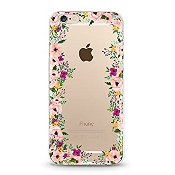 coque iphone 6 fleur rose rouge