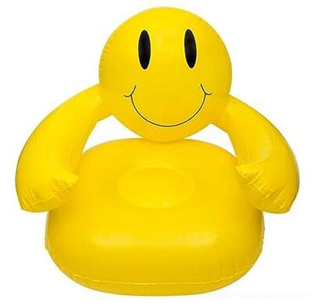 DDI Silla hinchable sonriente de 91,4 cm.: Amazon.es: Hogar