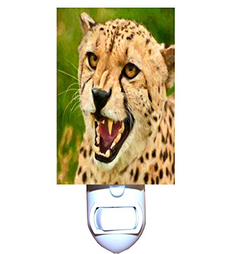 Cheetah Safari Decorative Night Light