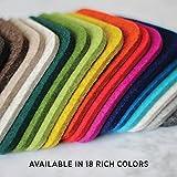 Premium Felt Drink Coasters - 100% Merino Wool from