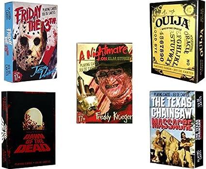 Amazon Com Coleccion Scary Movie 5 Deck Juego De Cartas Por Acuario Sports Outdoors