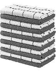 Utopia Towels -12 kökshanddukar set – 38 x 64 cm – 100 % ring spunnen bomull supermjuk och absorberande diskhanddukar, handdukar och barhanddukar