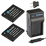 EforTek NB-11L Replacement Battery (2-Pack) and Charger Kit for Canon NB-11L and Canon PowerShot A2300 IS, A2400 IS, A2500, A2600, A3400 IS, A3500 IS, A4000 IS, ELPH 110 HS, ELPH 115 HS, ELPH 130 HS, ELPH 170 IS,ELPH 320 HS, ELPH 340 HS,SX400 IS,SX410 IS,ELPH 350 HS,