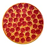 Food Pillow- Popular 15x15inch One Side Pizza Pillow