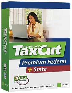 H&R Block Taxcut 2006 Premium Federal + State Win/Mac