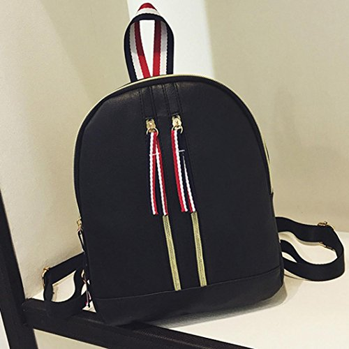 LtrottedJ Women Leather Backpacks,Schoolbags Travel Shoulder Bag (B) - Buy  Online in Oman.   Misc. Products in Oman - See Prices, Reviews and Free  Delivery ... 439a5b1c4b