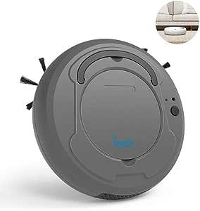 BOWAI Aspiradora robótica, USB Carga 3 en 1 Aspiradora automática ...