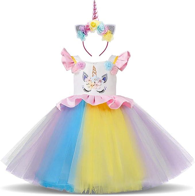 Amazon.com: Disfraz de princesa de unicornio para Halloween ...