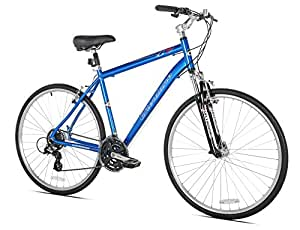 Giordano G7 Men's Hybrid Bike, 700c, Large