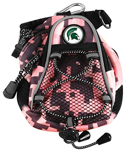 LinksWalker NCAA Michigan State Spartans - Mini Day Pack - Pink Digi ()