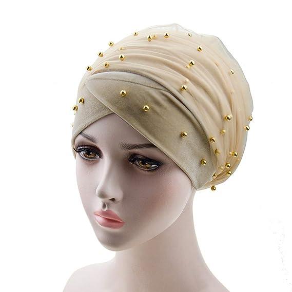 Women Turban Wrap Head Tube Scarf Arab Hijab Long Tail Cap Hat Scarf T