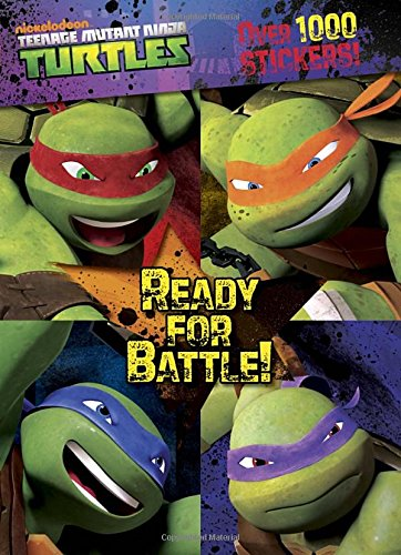 Battle Teenage Mutant Turtles Stickers product image